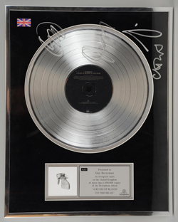 Greg Gilbert (The Delays) Charity Timed Auction of Music Memorabilia
